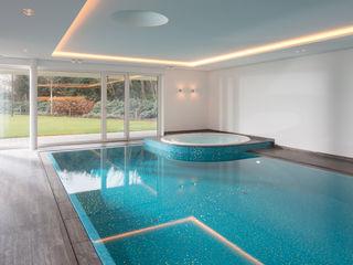 Çilek Spa Design Piscinas infinitas Cerámico Azul