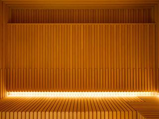 Çilek Spa Design Spa modernos Madera Acabado en madera