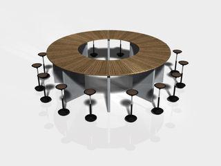 Visualisierung eines Glaskonferenzraumes falk-raum-design-systeme