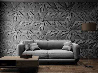 ZICARO - producent paneli 3D Modern walls & floors Ceramic Grey