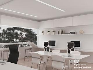 Pragma - Diseño Offices & stores White