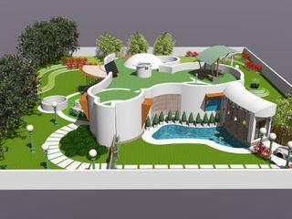 Maayish Architects Petites maisons Blanc