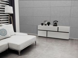 Loft Design System Deutschland - Wandpaneele aus Bayern Dinding & Lantai Modern Beton Grey