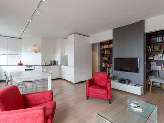 Fables de murs Living room Concrete Grey