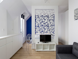 Fables de murs Living room Metal Multicolored