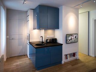 Fables de murs Built-in kitchens MDF Blue