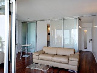 Fables de murs Living room Glass Beige