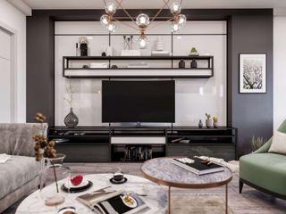 ANTE MİMARLIK Living roomAccessories & decoration