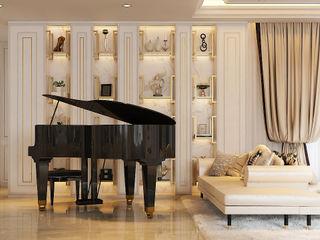 Norm designhaus Ruang Keluarga Klasik