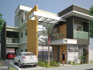 Rômulo Arquitetura . Design . Iluminação Casas modernas