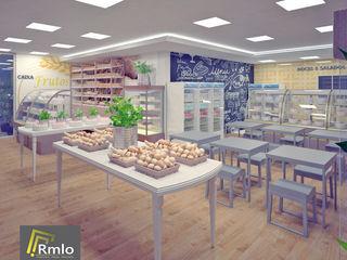 Rômulo Arquitetura . Design . Iluminação Escritório e loja