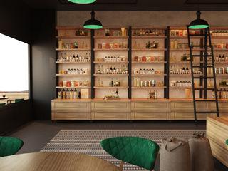 İNDEKSA Mimarlık İç Mimarlık İnşaat Taahüt Ltd.Şti. Commercial Spaces