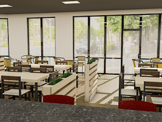 Sixty9 3D Design Gastronomia O efekcie drewna