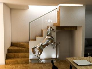 Sixty9 3D Design Schody O efekcie drewna