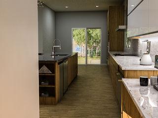 Sixty9 3D Design Kuchnia na wymiar O efekcie drewna