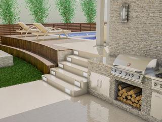 Sixty9 3D Design Nowoczesny basen