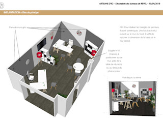 ABCD MAISON Modern offices & stores
