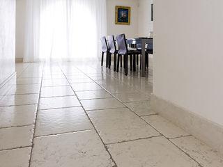 Viel Emozioine Pietra Mediterranean style dining room Marble White