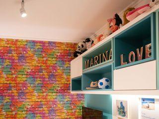 Bloco Z Arquitetura Teen bedroom MDF Multicolored
