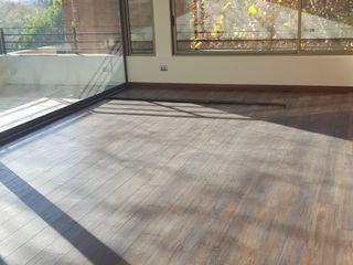 Remodelación de Departamento Candelaria en Vitacura Constructora CYB Spa Livings de estilo moderno