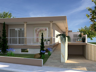 PROJETARQ Single family home Marble Pink