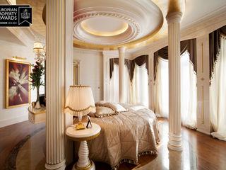 Master Bedroom - 1 / Bosphorus City Villa Sia Moore Archıtecture Interıor Desıgn Klasyczna sypialnia Drewno Beżowy