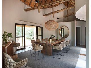 Metaphor Design Rustic style hotels Solid Wood Beige