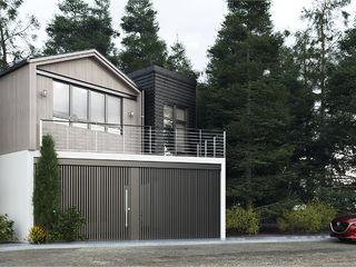 CODIAN CONSTRUCTORA Rumah pedesaan Grey
