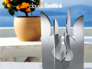 Claudio Bettini Living roomAccessories & decoration Iron/Steel Metallic/Silver