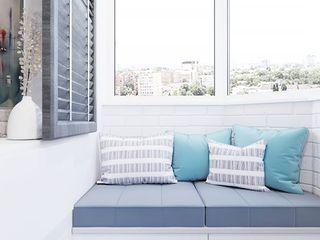 Lemonde housign complexe Vinterior - дизайн интерьера Balcón