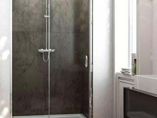 GiordanoShop BañosBañeras y duchas Vidrio Transparente