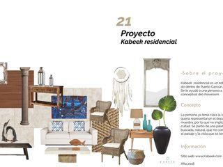 Kabeek colaboración dpto muestra Andrea Loya Salones mediterráneos
