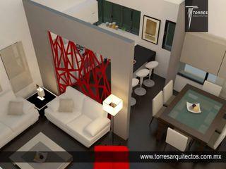 Departamentos Playitas Torres Arquitectos Proyecto y Construcción Cocinas equipadas Madera Beige