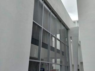 vertikal Pintu & Jendela Gaya Klasik Aluminium/Seng Grey