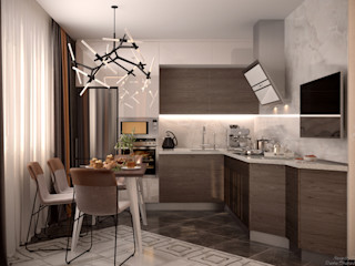 Студия интерьерного дизайна happy.design Cocinas modernas