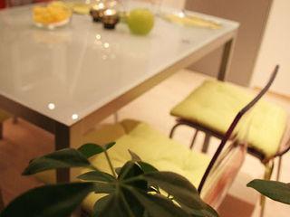 Irina Yakushina Cozinhas minimalistas Laranja