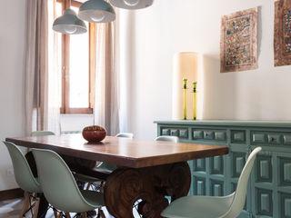 HORTUM APARTAMENT Caterina Raddi Sala da pranzo eclettica Verde