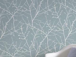 TapetenStudio.de Classic style walls & floors Blue