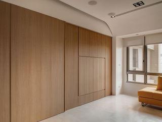 邑舍室內裝修設計工程有限公司 Salones de estilo minimalista