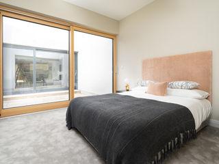 Luxury Contemporary Development Project Marvin Windows and Doors UK pintu kayu Kayu Wood effect