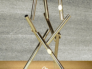 Claudio Bettini Living roomAccessories & decoration Iron/Steel Amber/Gold