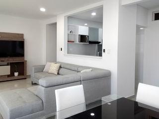 Remodelar Proyectos Integrales Cocinas equipadas Cuarzo Blanco