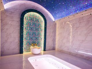 Çilek Spa Design Baños Turcos Cerámico Azul