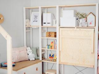 YS PROJECT DESIGN KinderzimmerSchreibtische und Stühle Holz Holznachbildung