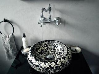 Cerames 식민지스타일 욕실 검정