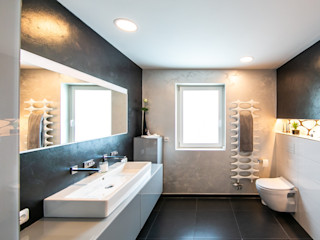 Badambiente Bad&Design Rußin&Raddei Moderne Badezimmer Keramik Braun
