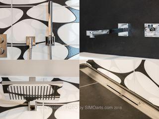 Badambiente Bad&Design Rußin&Raddei Moderne Badezimmer Metall Braun