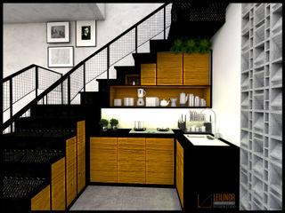CV Leilinor Architect Small kitchens Brown