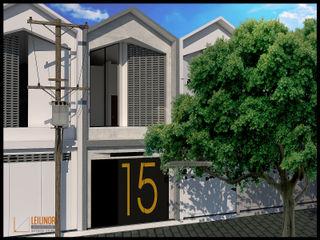 CV Leilinor Architect Small houses Bricks Grey