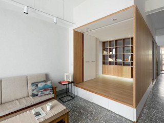 老屋改造!用捲簾隔出舒適的和室 MSBT 幔室布緹 室內景觀